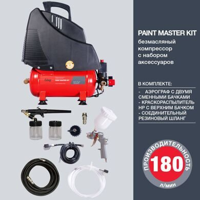 Компрессор FUBAG PAINT MASTER KIT + 3